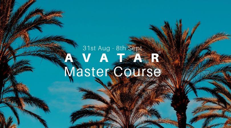 Avatar Master Course AugSep 2019