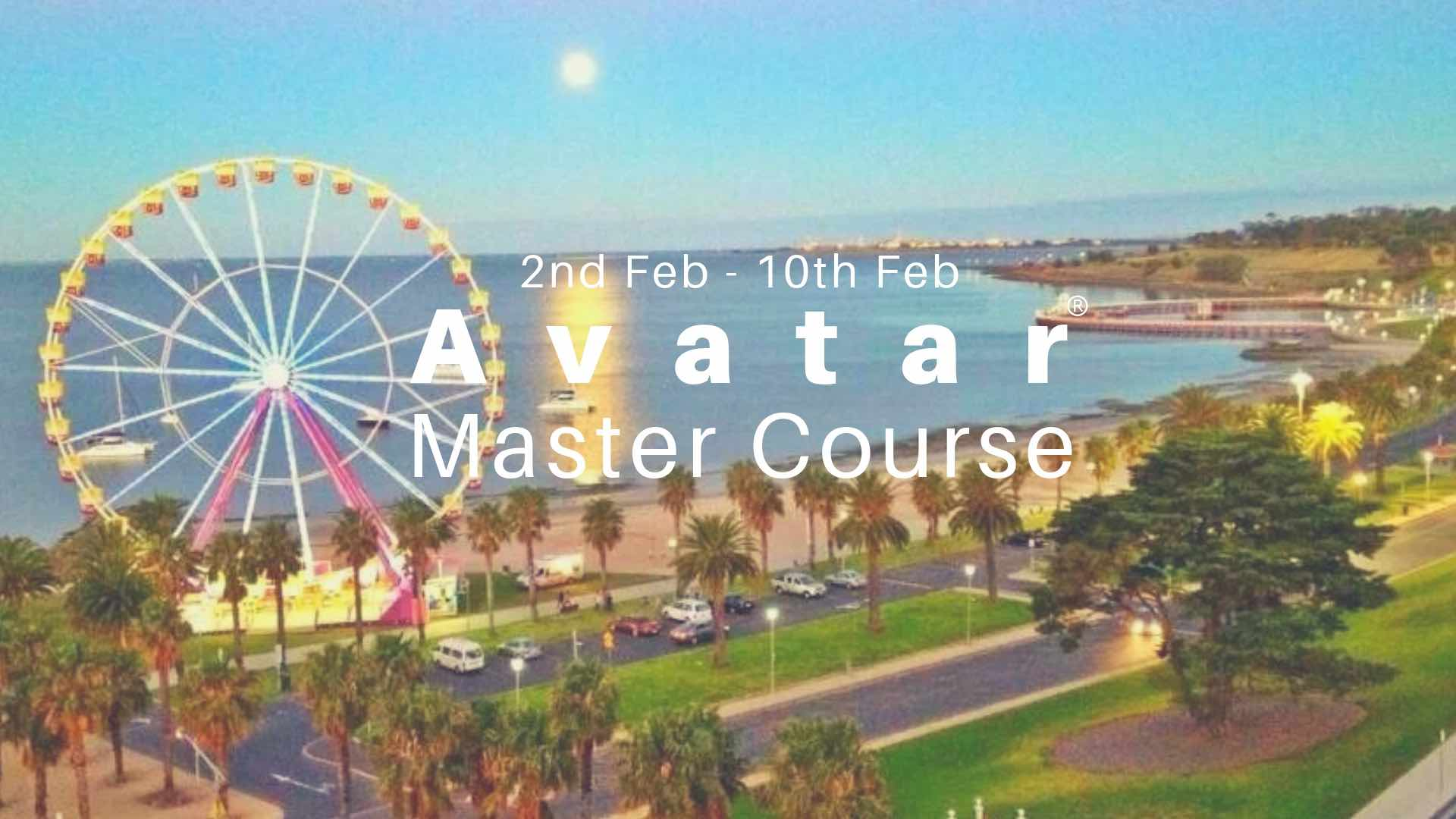 Geelong Avatar Master Course Jan 2019